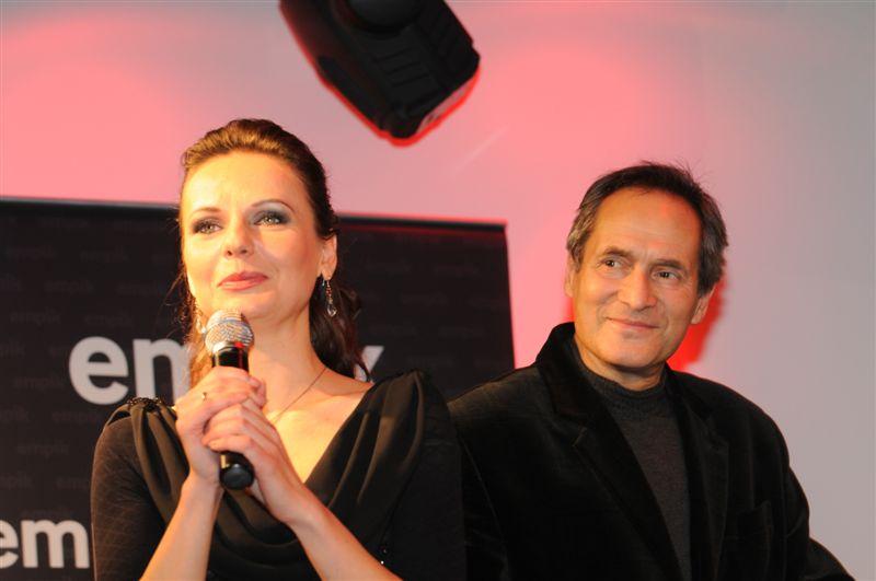 Justyna Reczeniedi i Jerzy Zelnik - fot. promocja albumu
