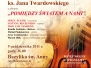 Koncert poezji Ks. Jana Twardowskiego 09.10.2011