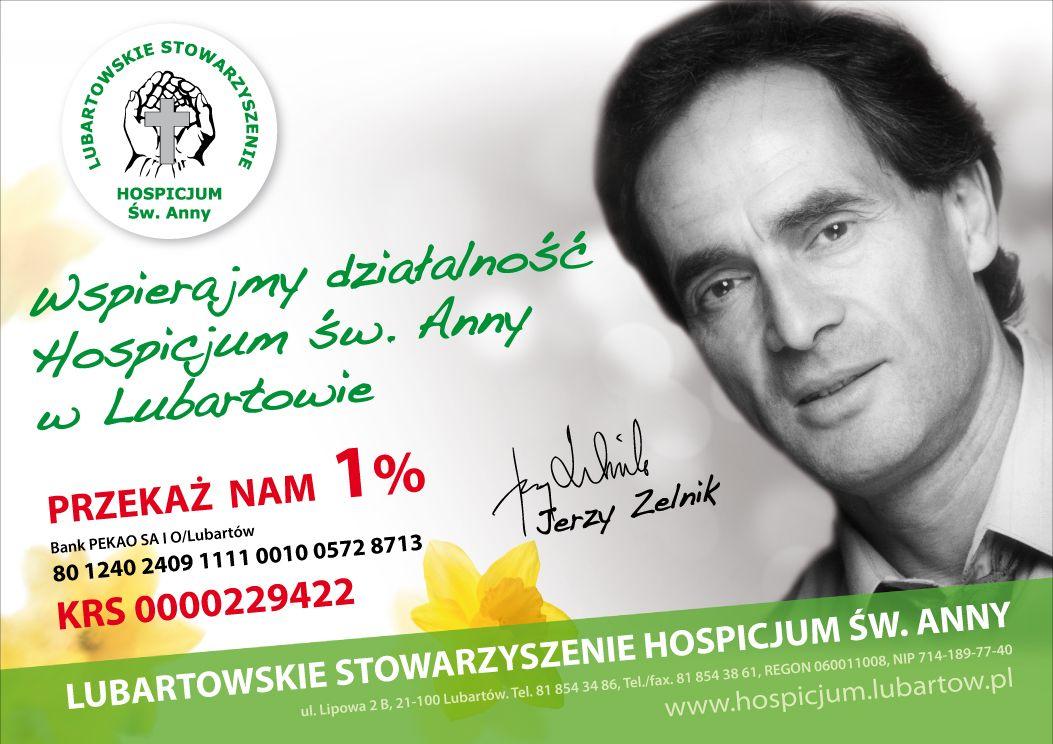 Przekaz 1 procent 2015 - Jerzy Zelnik